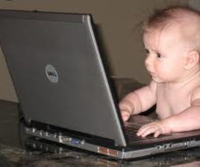 computer baby